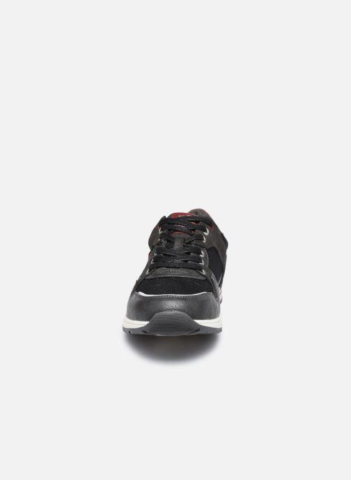 Baskets Mustang shoes Olize Gris vue portées chaussures