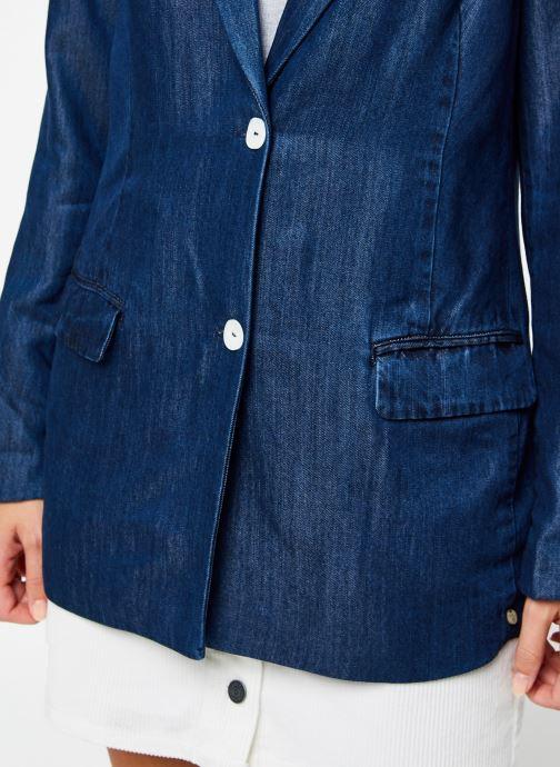 Vêtements Scotch & Soda Ams Blauw chic denim Tencel blazer Bleu vue face