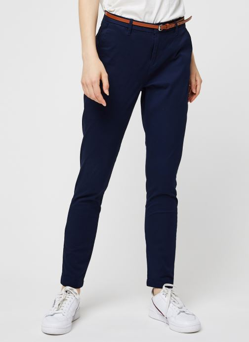 Vêtements Accessoires Ams Blauw slim fit chino in stretch twill