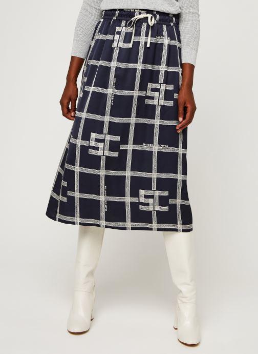 Vêtements Accessoires Midi viscose skirt with allover print