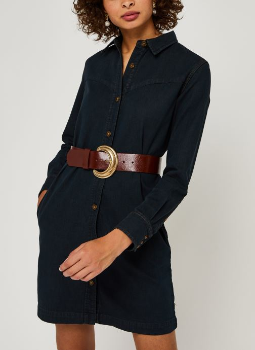 Ams Blauw denim shirt dress with seasonal washes