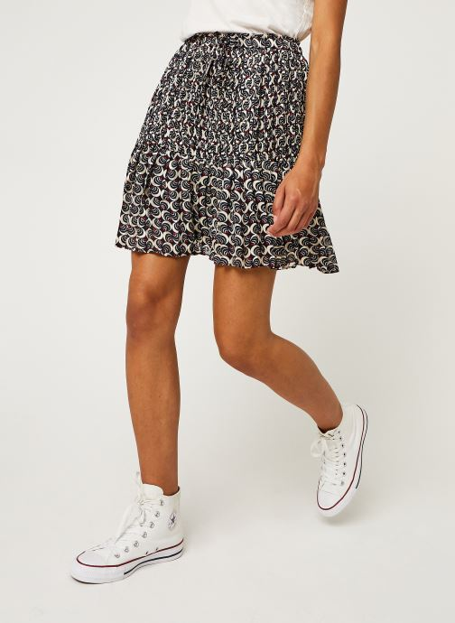 Jupe mini - Allover printed with pleats