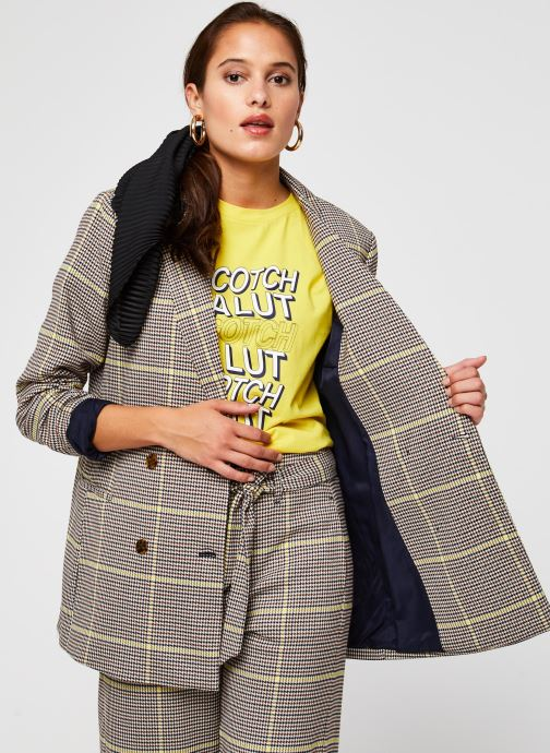 Vêtements Accessoires Double breasted longer length blazer in special check
