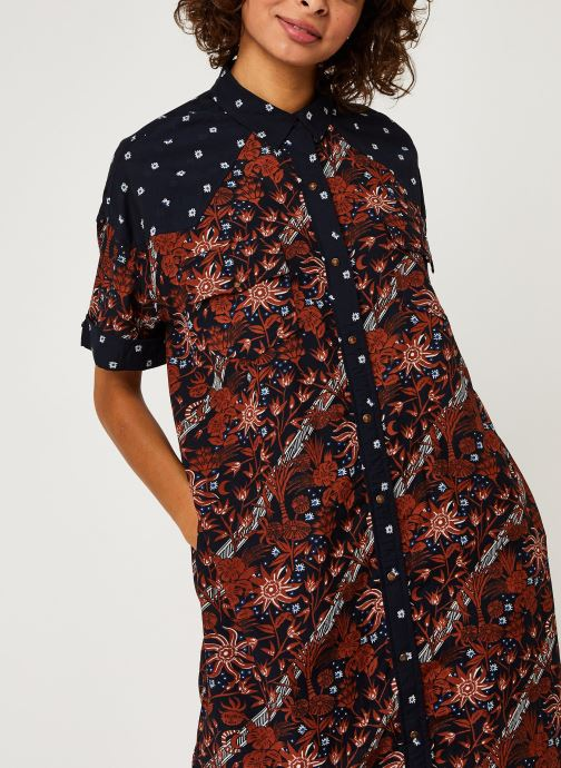Vêtements Accessoires Longer length allover printed shirt dress