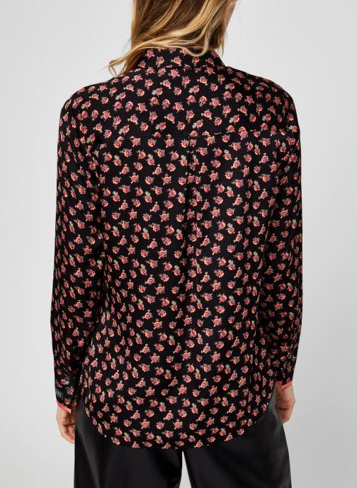 Vêtements Scotch & Soda Regular fit viscose shirt Multicolore vue portées chaussures