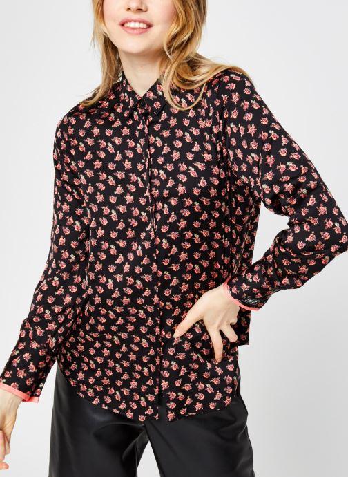 Vêtements Scotch & Soda Regular fit viscose shirt Multicolore vue droite