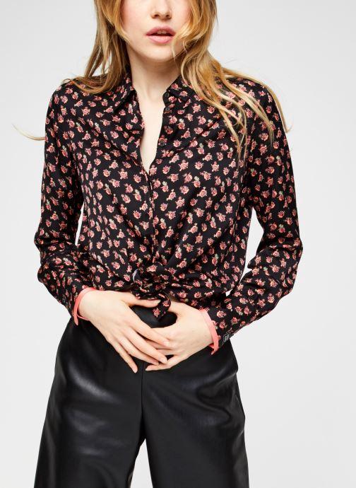 Vêtements Scotch & Soda Regular fit viscose shirt Multicolore vue détail/paire