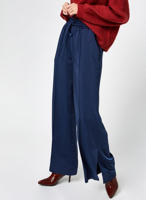 Kleding Accessoires Wide leg jogger in shiny quality