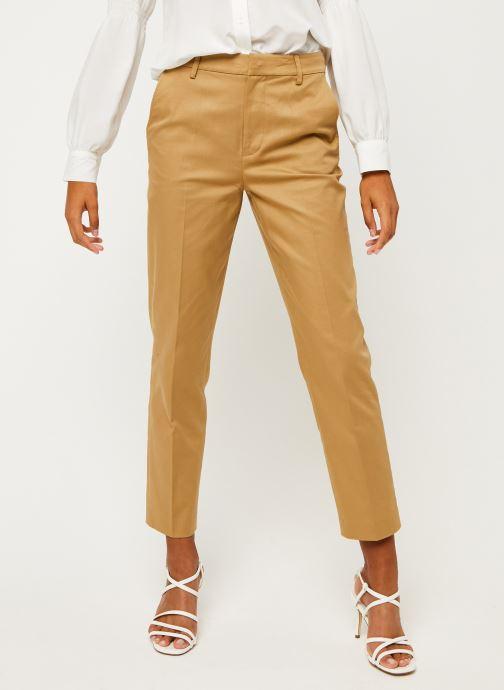 Vêtements Scotch & Soda 'Abott' regular fit chino in organic cotton twill Marron vue détail/paire