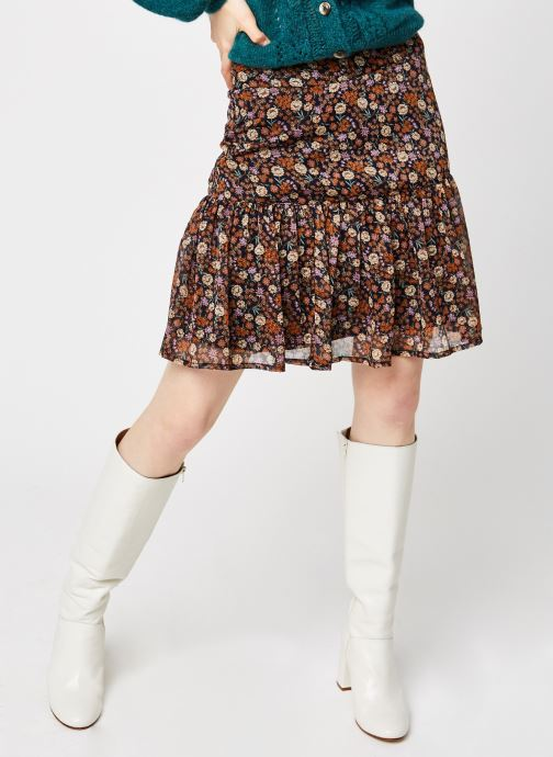 Jupe mini - Shorter length printed skirt