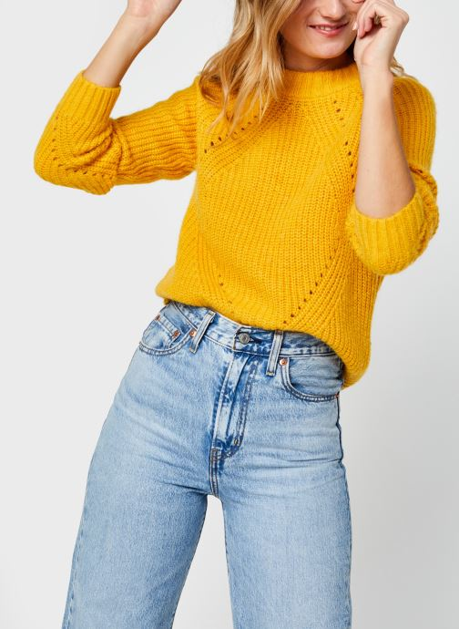 Vêtements Accessoires Fuzzy knit with cable stitches