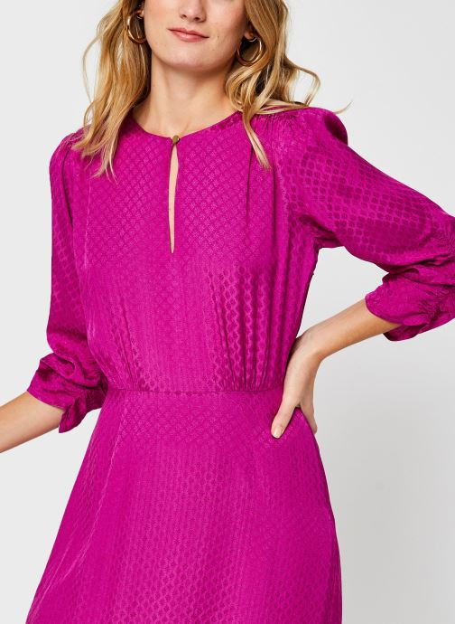 Vêtements Scotch & Soda Midi length jacquard dress Rose vue face