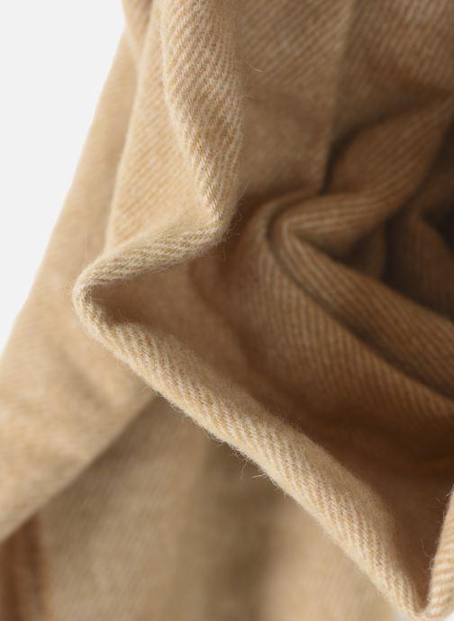 Schal Scotch & Soda Classic scarf in wool blend quality beige schuhe getragen