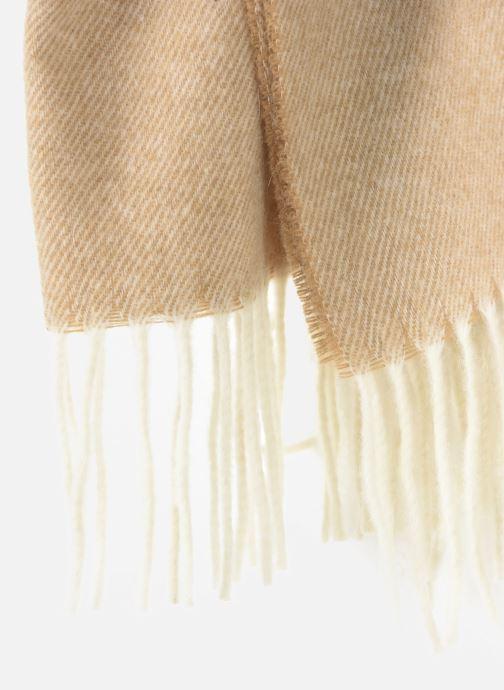 Schal Scotch & Soda Classic scarf in wool blend quality beige ansicht von vorne