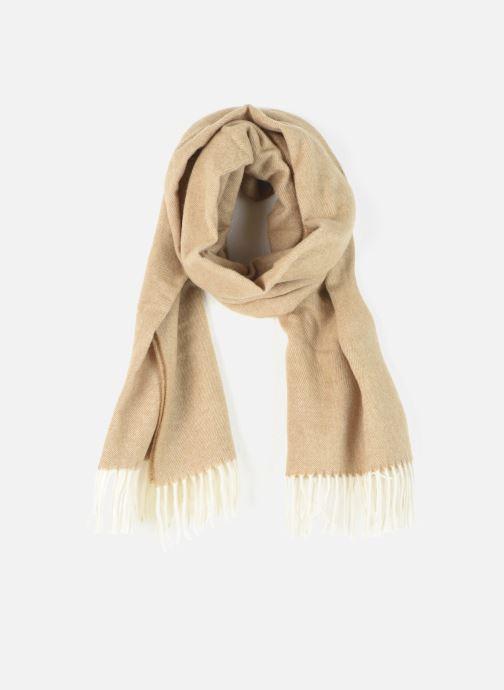 Schal Scotch & Soda Classic scarf in wool blend quality beige detaillierte ansicht/modell