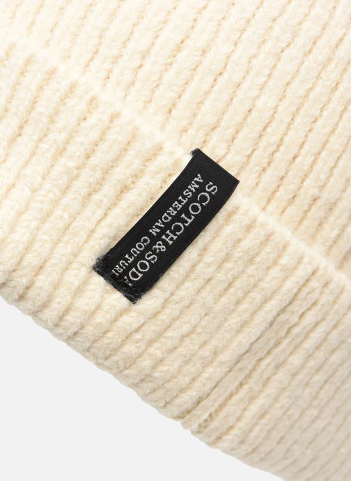 Bonnets Scotch & Soda Classic knitted beanie Beige vue face