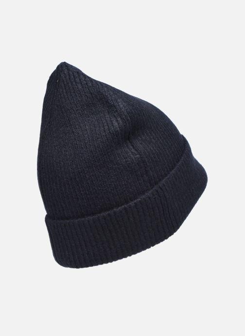 Bonnets Scotch & Soda Classic knitted beanie Bleu vue portées chaussures