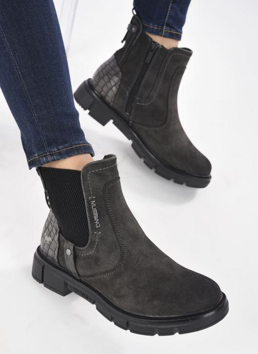 Boots en enkellaarsjes Mustang shoes Tiana Grijs onder