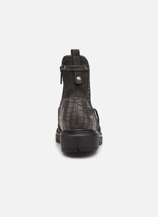 Boots en enkellaarsjes Mustang shoes Tiana Grijs rechts