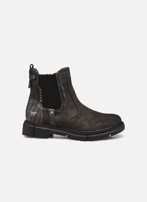 Boots en enkellaarsjes Mustang shoes Tiana Grijs achterkant