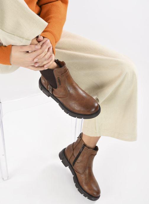 Boots en enkellaarsjes Mustang shoes Tiana Bruin onder