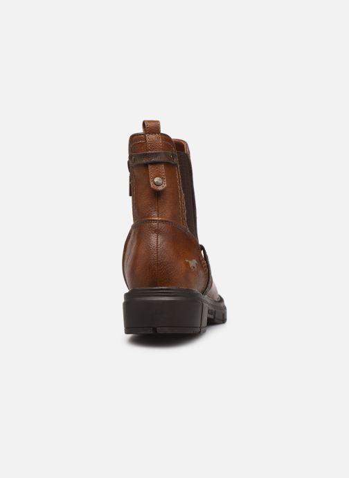 Boots en enkellaarsjes Mustang shoes Tiana Bruin rechts