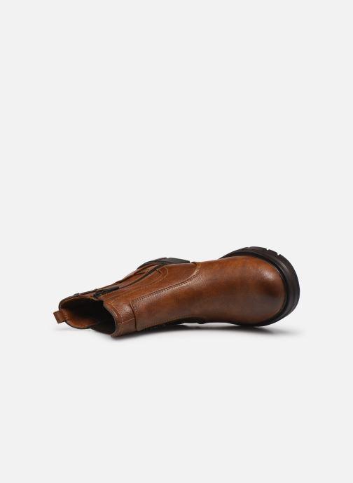 Boots en enkellaarsjes Mustang shoes Tiana Bruin links