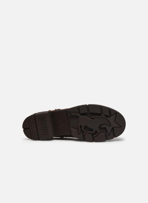 Boots en enkellaarsjes Mustang shoes Tiana Bruin boven