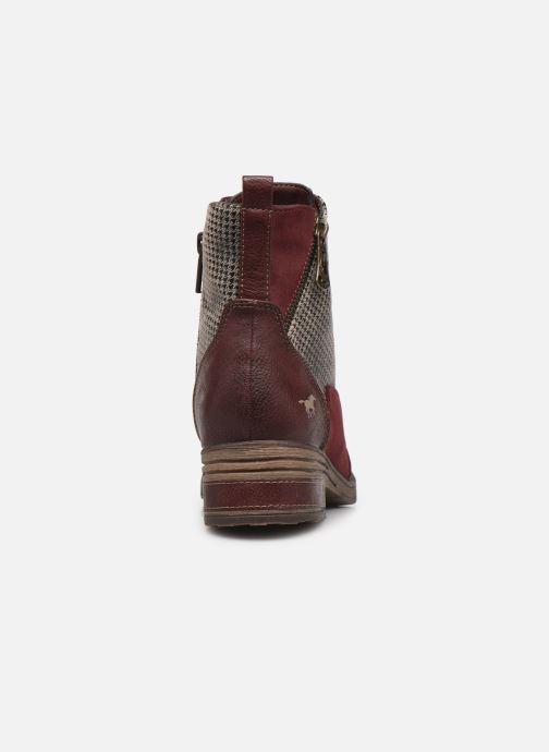 Bottines et boots Mustang shoes Elka Bordeaux vue droite