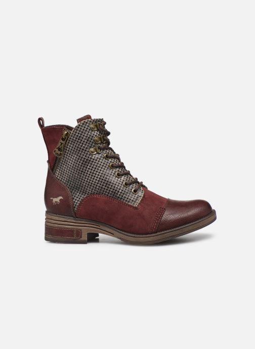 Bottines et boots Mustang shoes Elka Bordeaux vue derrière