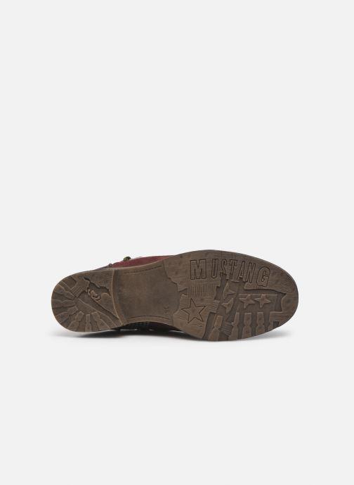 Bottines et boots Mustang shoes Elka Bordeaux vue haut