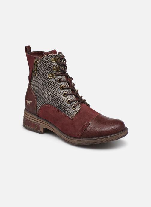 Bottines et boots Mustang shoes Elka Bordeaux vue détail/paire