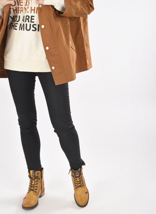 Stiefeletten & Boots Mustang shoes Assya gelb ansicht von unten / tasche getragen