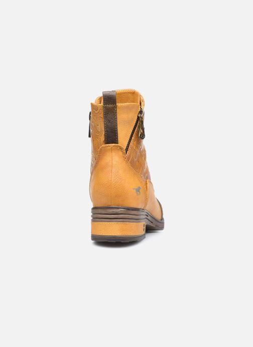 Stiefeletten & Boots Mustang shoes Assya gelb ansicht von rechts