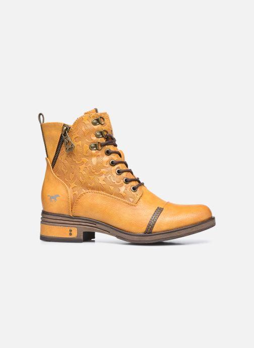 Stiefeletten & Boots Mustang shoes Assya gelb ansicht von hinten