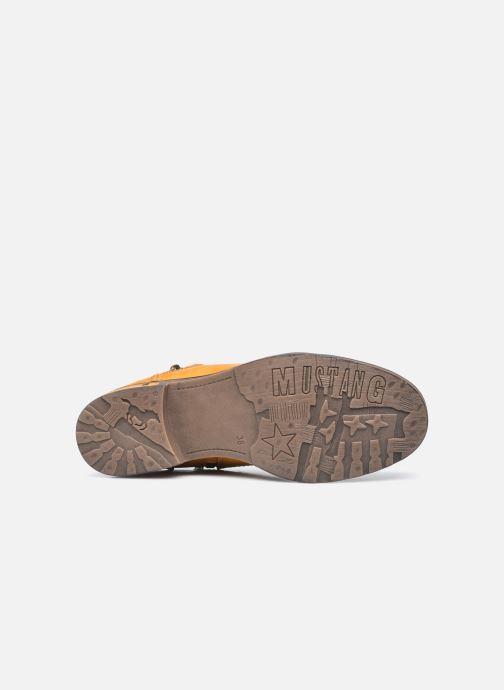 Stiefeletten & Boots Mustang shoes Assya gelb ansicht von oben
