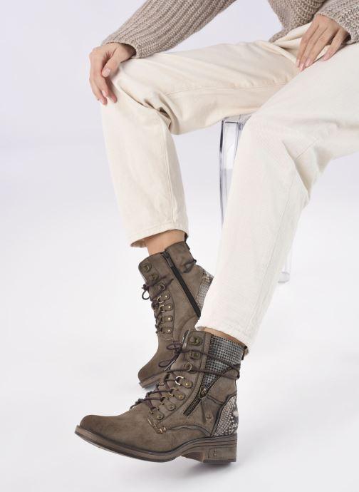 Stiefeletten & Boots Mustang shoes Avia braun ansicht von unten / tasche getragen