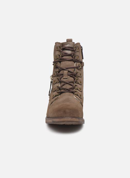 Stiefeletten & Boots Mustang shoes Avia braun schuhe getragen