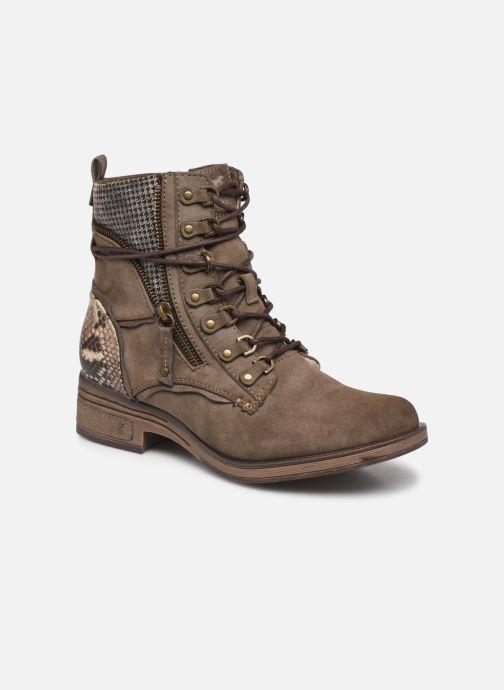 Bottines et boots Mustang shoes Avia Marron vue détail/paire