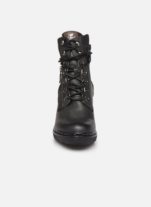 Stiefeletten & Boots Mustang shoes Déa grau schuhe getragen