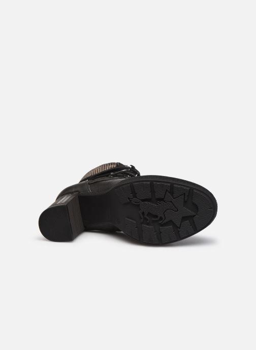 Stiefeletten & Boots Mustang shoes Déa grau ansicht von oben