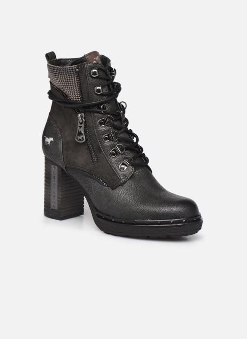Boots en enkellaarsjes Mustang shoes Déa Grijs detail