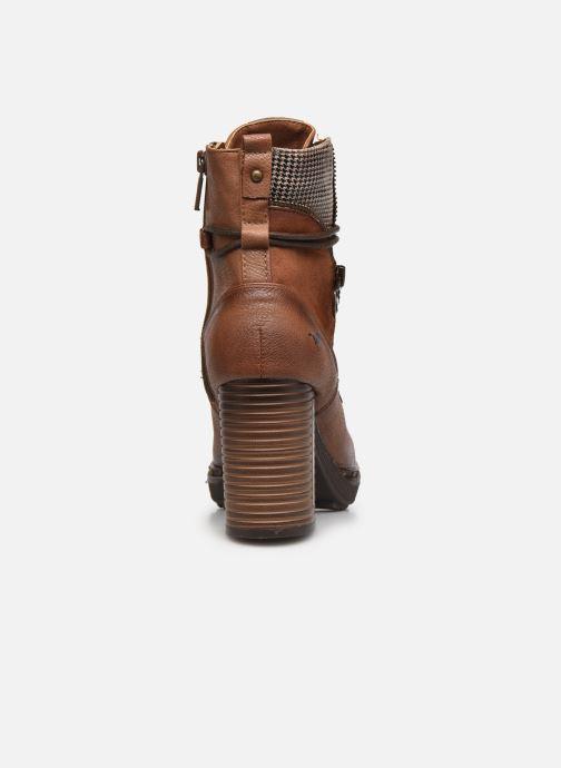 Bottines et boots Mustang shoes Déa Marron vue droite
