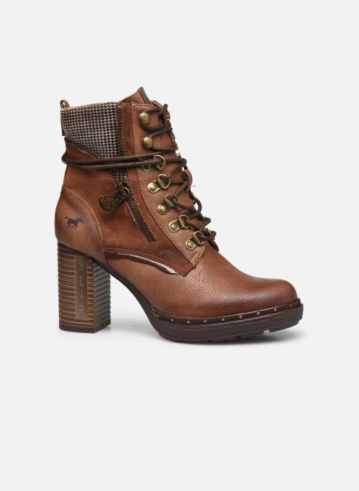 Bottines et boots Mustang shoes Déa Marron vue derrière