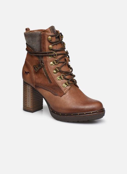 Bottines et boots Mustang shoes Déa Marron vue détail/paire