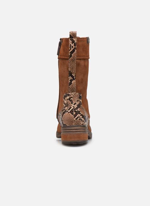 Bottines et boots Mustang shoes Romy Marron vue droite