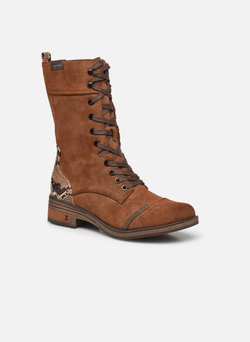 Bottines et boots Mustang shoes Romy Marron vue détail/paire