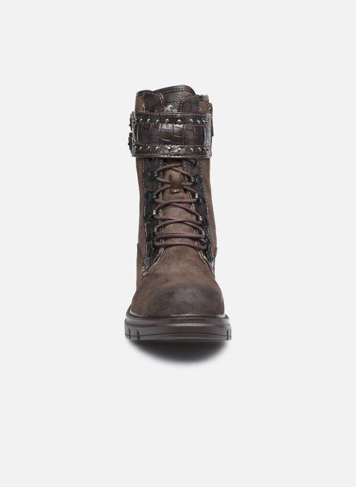 Stiefeletten & Boots Mustang shoes Théa braun schuhe getragen