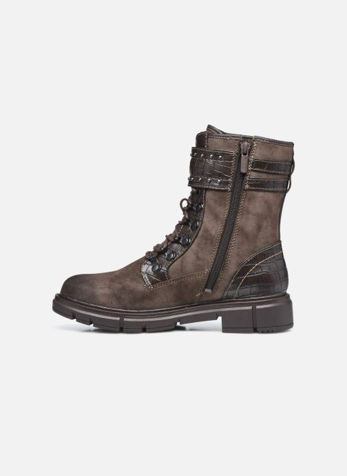 Stiefeletten & Boots Mustang shoes Théa braun ansicht von vorne
