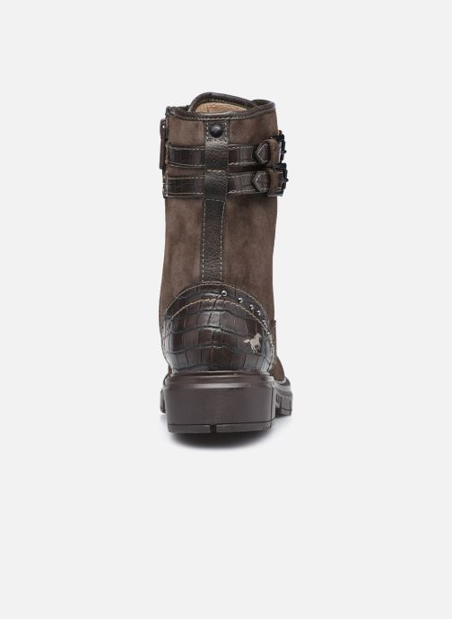 Stiefeletten & Boots Mustang shoes Théa braun ansicht von rechts